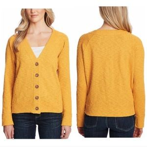 NWT Two By Vince Camuto Mustard Cardigan